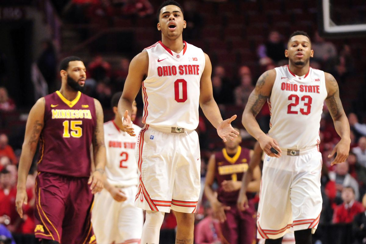 How did D'Angelo Russell end up at Ohio State?