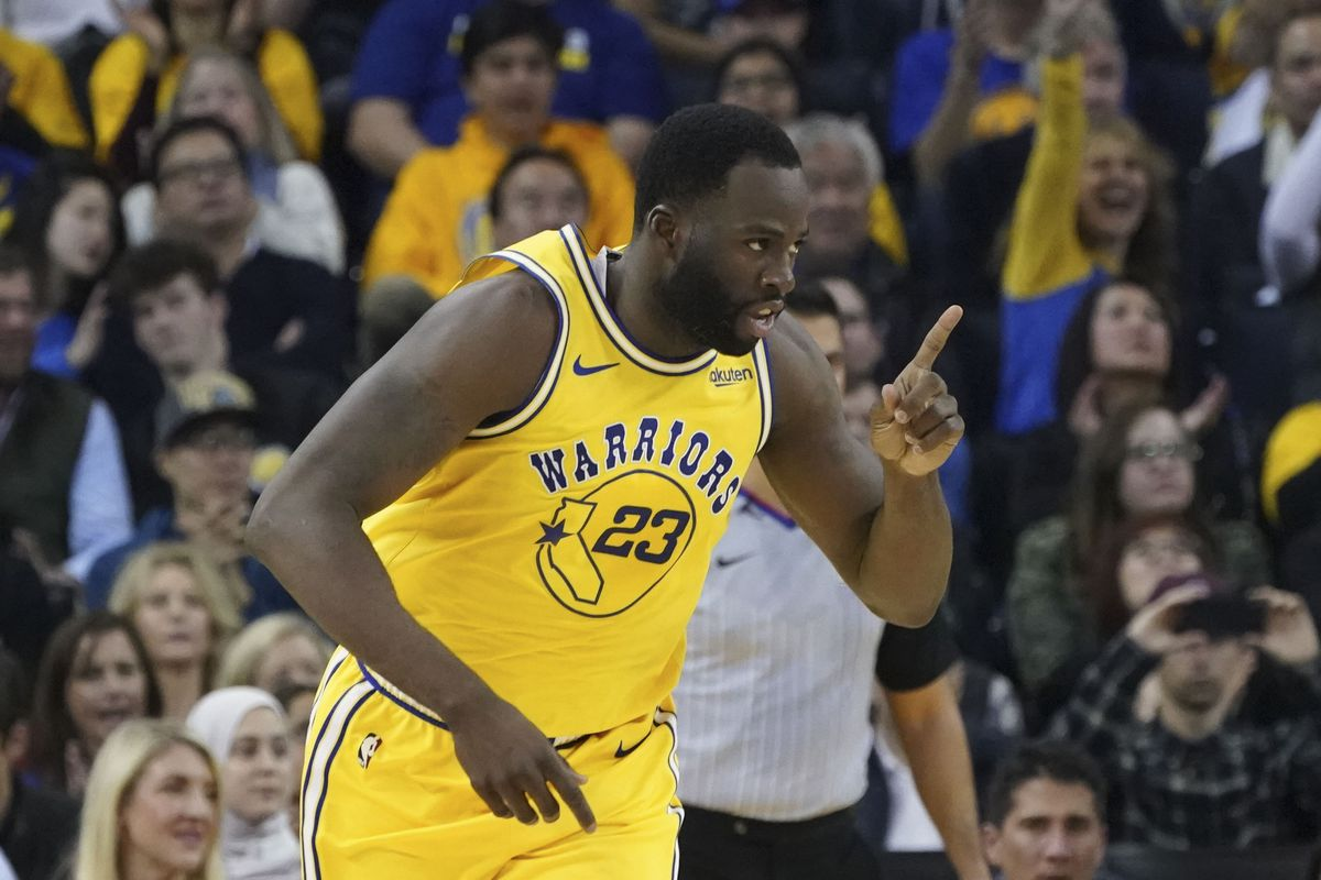new concept 382c2 0794e NBA players vote Draymond Green as overrated, weigh in on ...