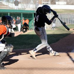 Murray and Skyline play a high school baseball game in Murray at Ken Price Ballpark on Tuesday, March 30, 2021. Murray won 7-5.
