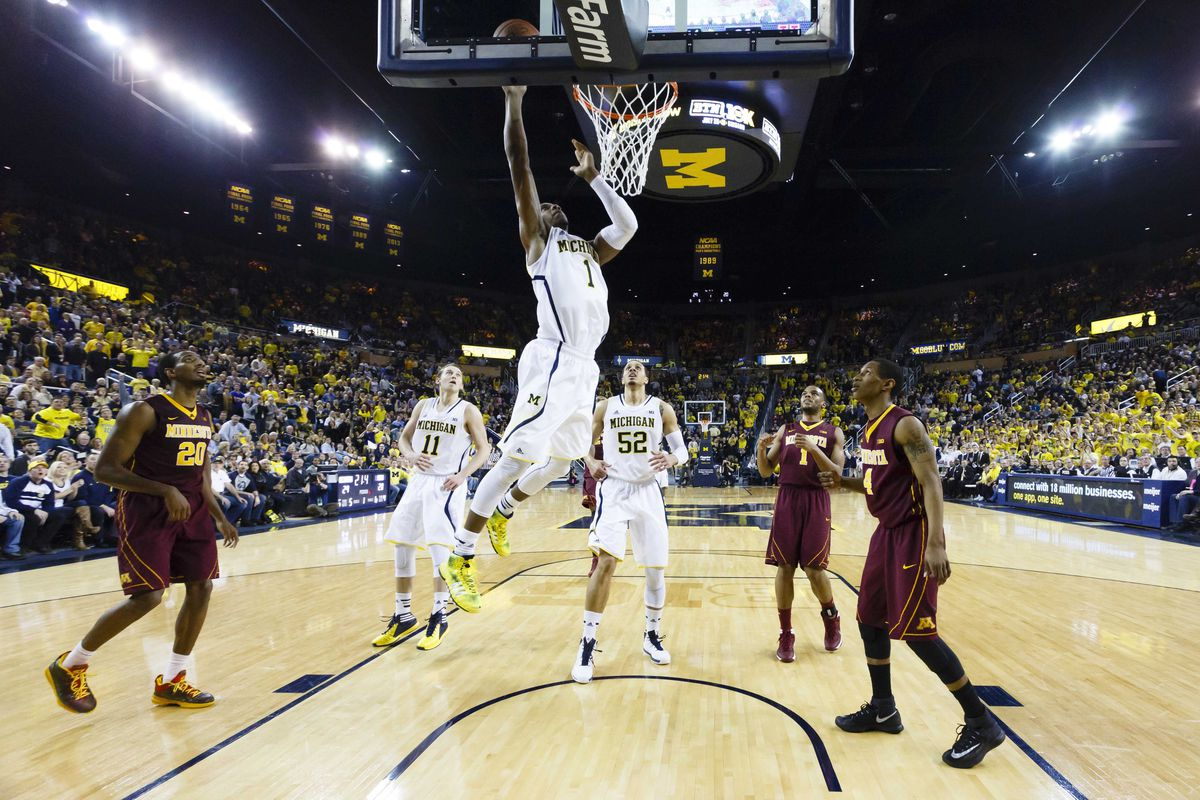 Michigan and GRIII clinched a share of the B1G crown on Saturday
