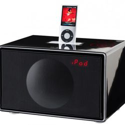 """All-In-One Stereo System by Genevasound ($299), <a href=""""http://www.abchome.com/store/store/pc/all-in-one-stereo-system-by-genevasound-small-99p4931.htm"""" rel=""""nofollow"""">ABC Carpet & Home</a>"""