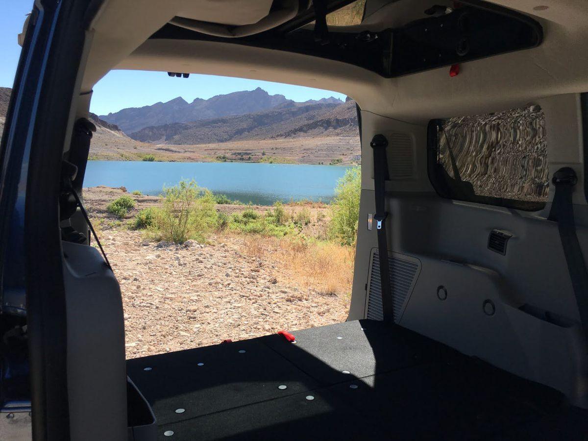 Camper Van Has Pop Top Roof For Extra Sleeping Space Curbed