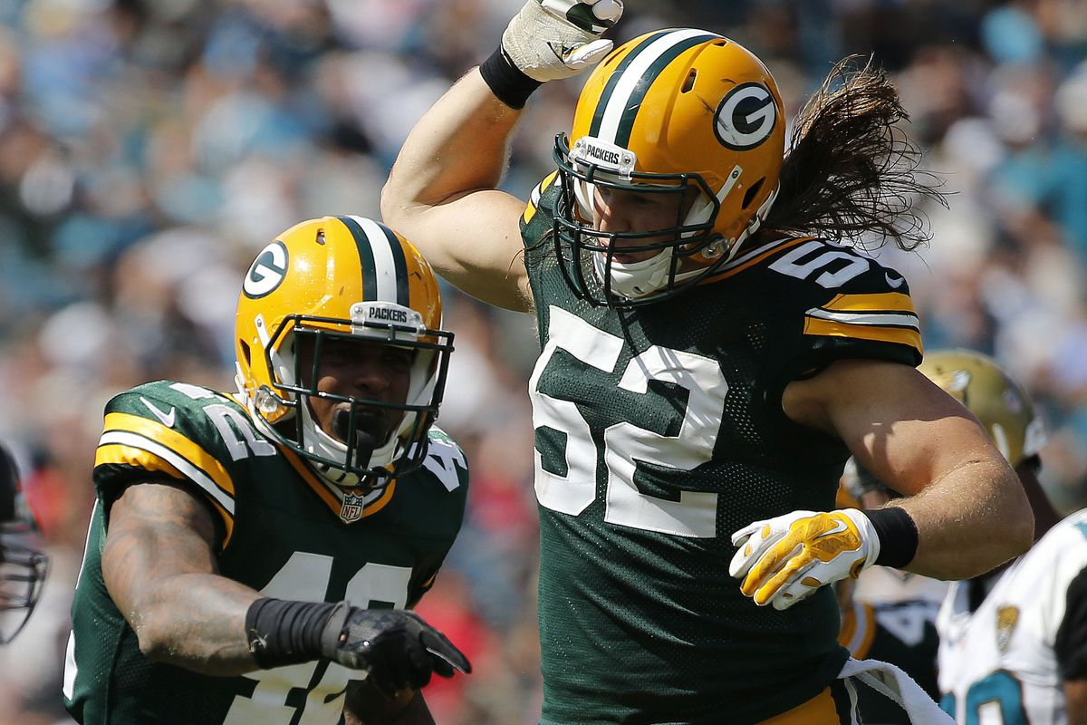 Lions Packers injury report Clay Matthews Morgan Burnett ruled
