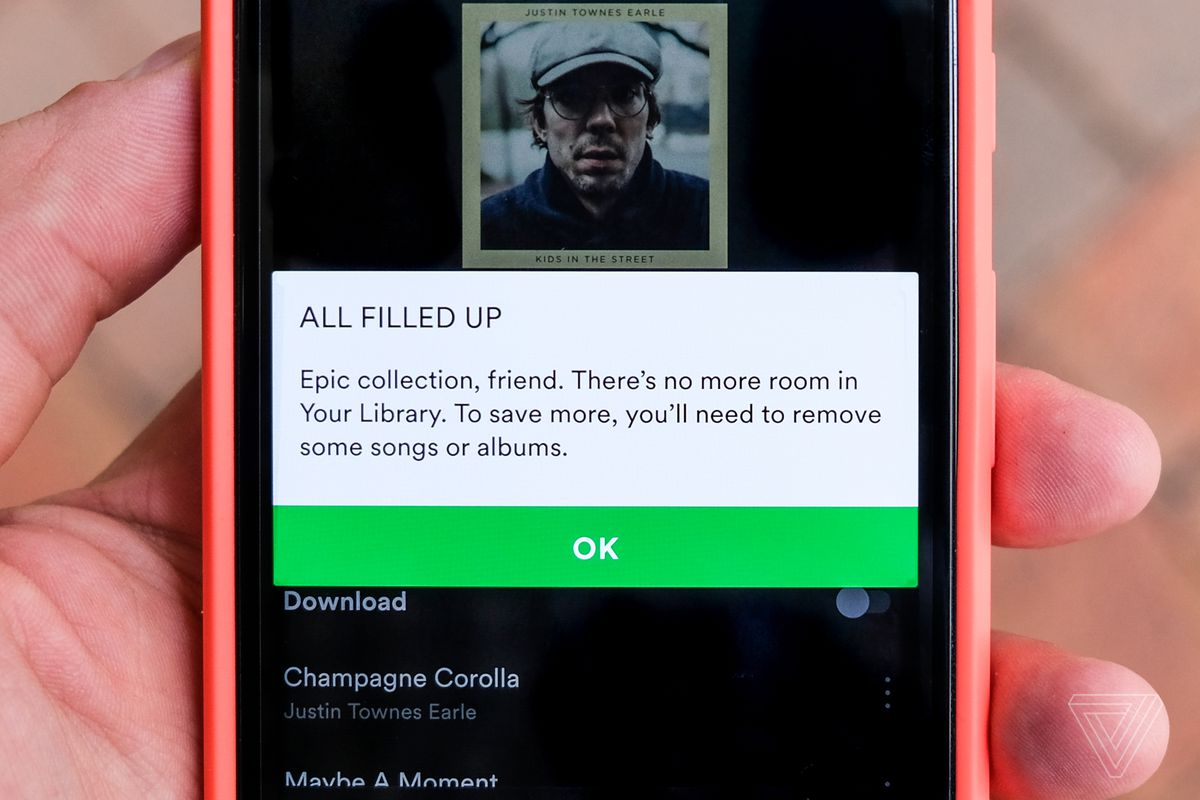 It's time for Spotify to stop capping how much music you can