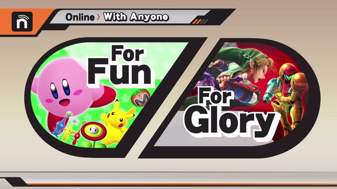Super Smash Bros. for Wii U and 3DS online play