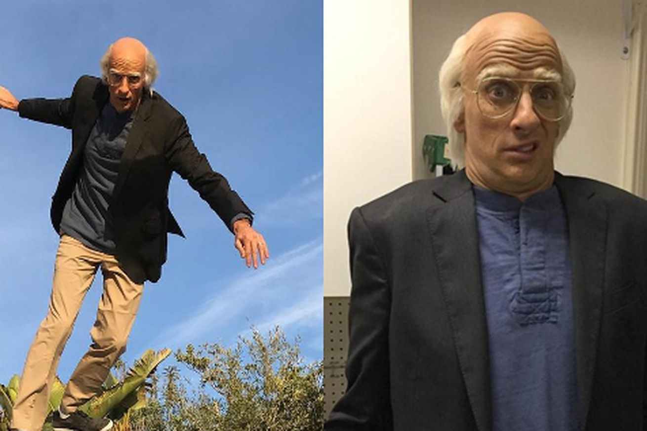 Tony Hawk's Larry David Halloween costume is way too convincing ...