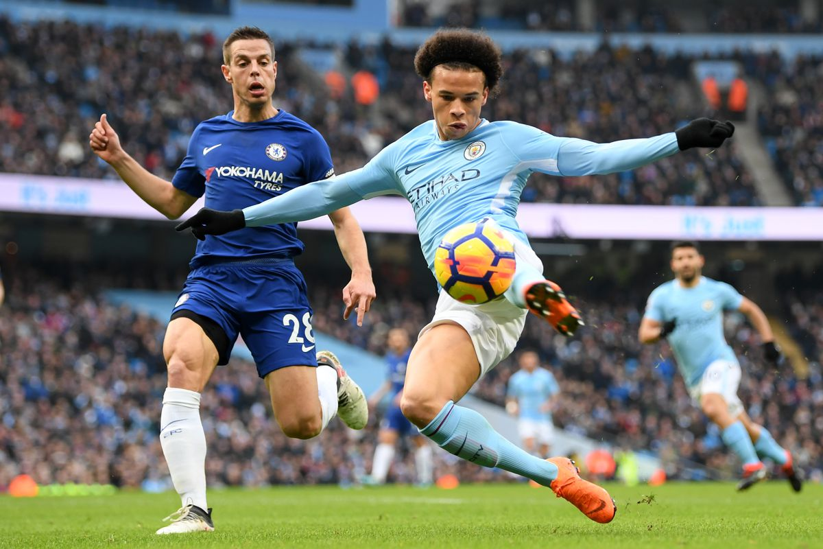 Manchester City Vs. Chelsea, Premier League: Second-half