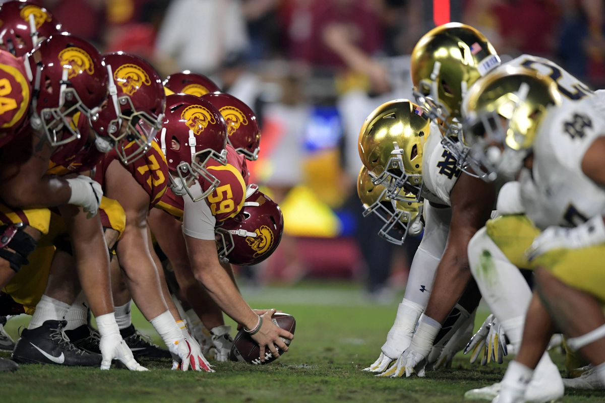 Notre Dame's USC problem, yearning for Sparty, and brand tampering