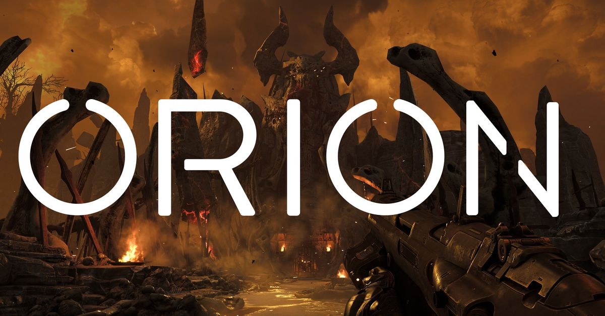 Orion game streaming demo hands-on with Doom (2016)