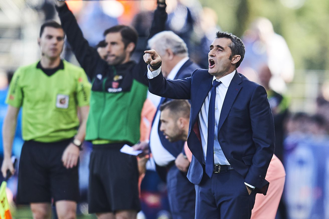Valverde happy with Todibo, Wague and Puig after Huesca draw
