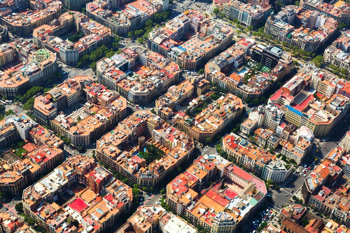 Barcelona's Eixample neighborhood