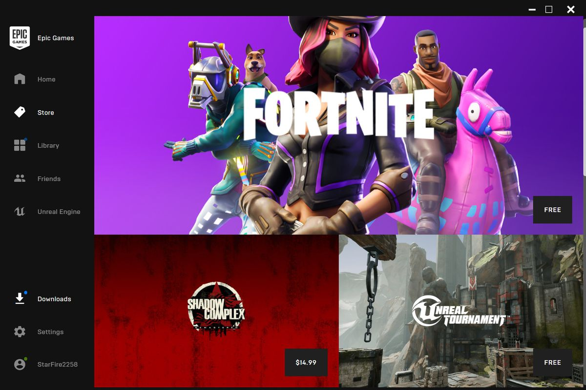 epic games the developer of fortnite and the widely used game making software unreal engine is about to start selling other companies games too - fortnite free online play now
