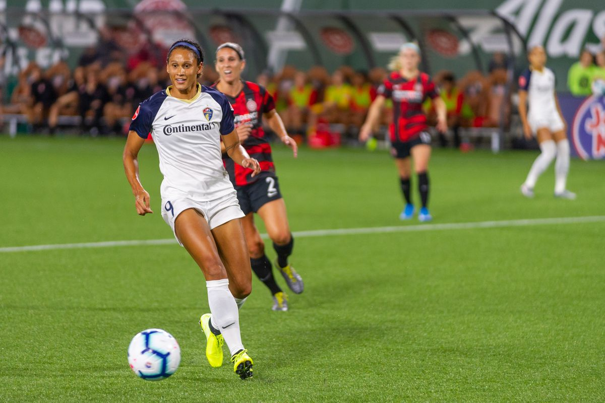 SOCCER: SEP 11 NWSL - NC Courage at Portland Thorns FC