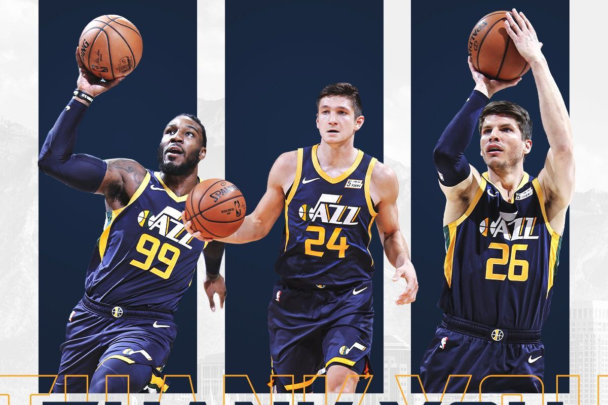 cheap for discount d352d 8cf7d Utah Jazz share video thanking Jae Crowder, Kyle Korver ...