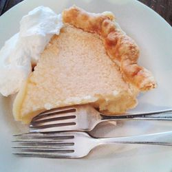 """Lemon Chess Pie from Four and Twenty Blackbirds by <a href=""""http://www.flickr.com/photos/pinkkittystudios/8651263615/in/pool-eater/"""">Pink Kitty Studios</a>"""