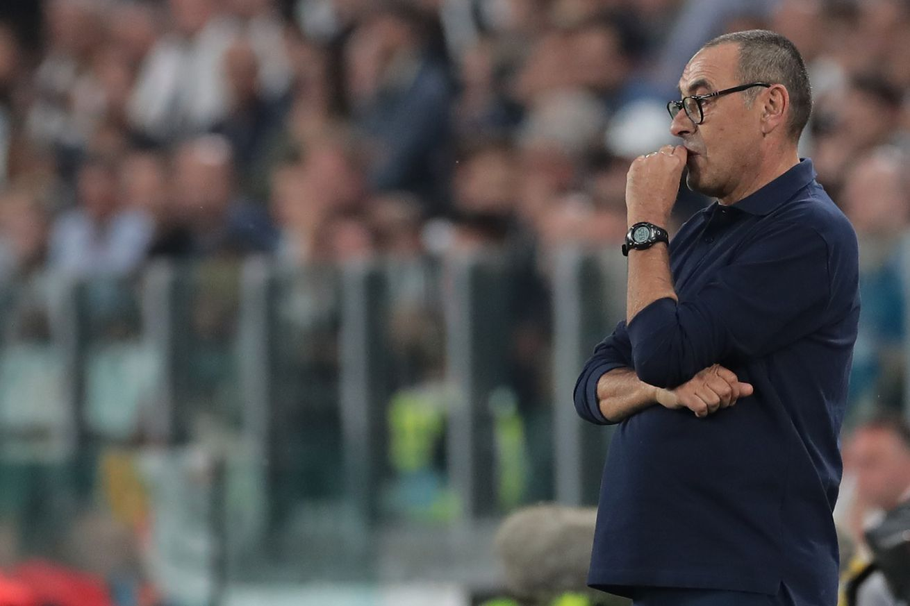 Sarri: Juventus are under construction, and it shows.