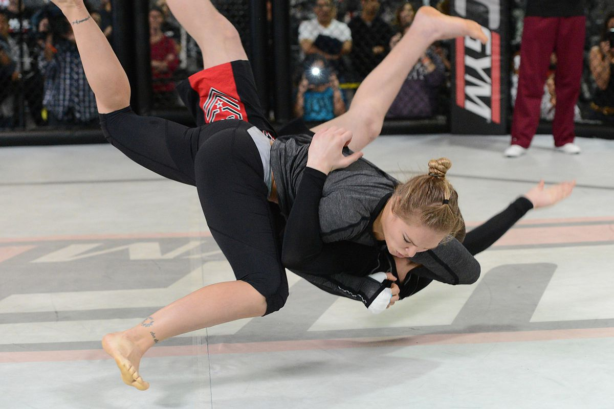 UFC 170: The Judo Career of Ronda Rousey - Bloody Elbow