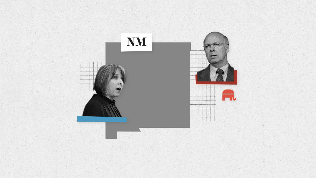 New Mexico House Rep. Michelle Lujan Grisham is running in the Democratic primary governor to challenge conservative Rep. Steve Pearce, who has the Republican nomination.