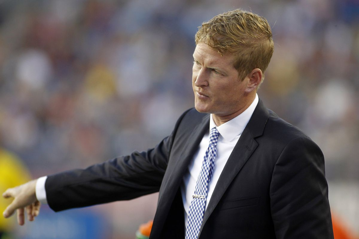 Jim Curtin has a 100% record for the Union - how long will that last?