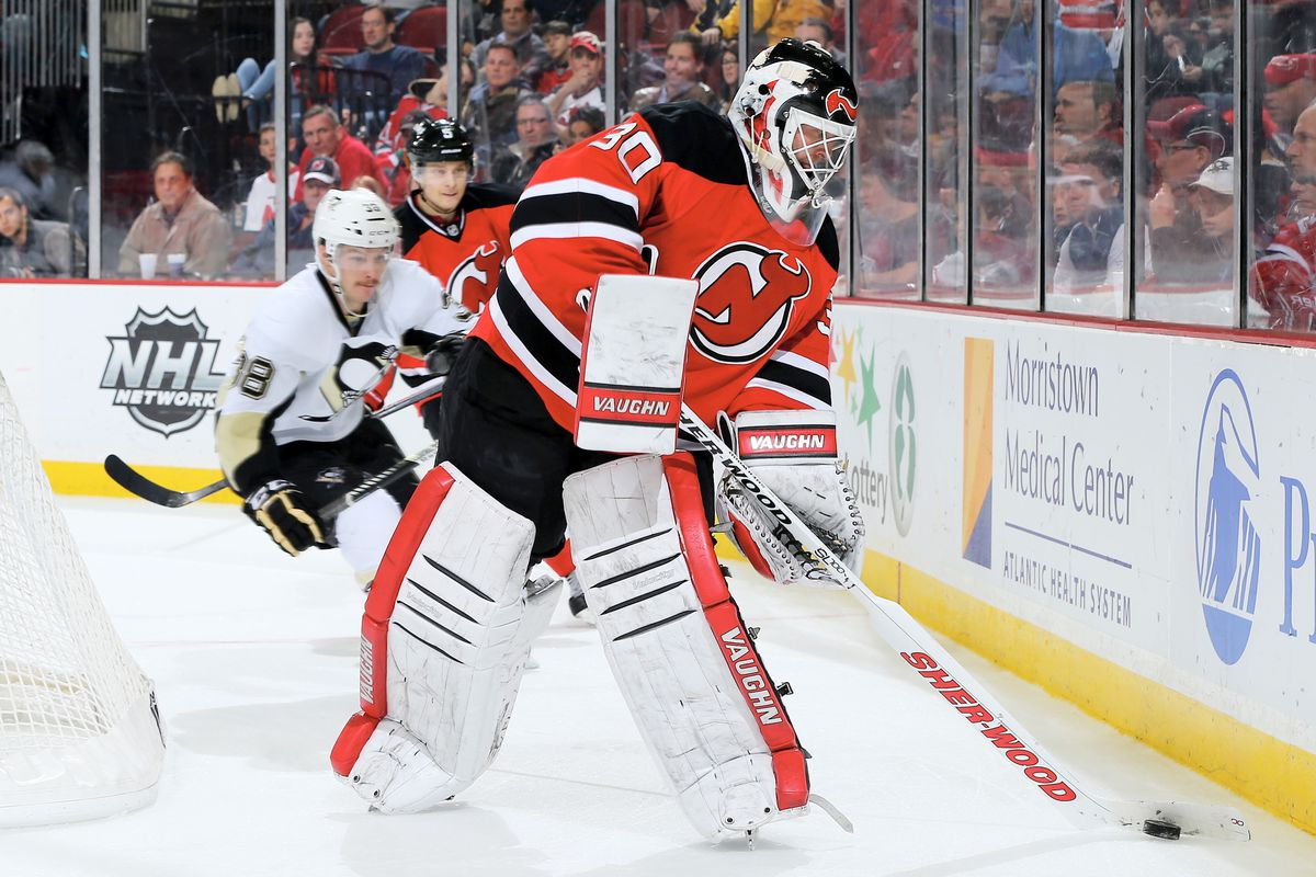 Now that Brodeur is gone, they expand the trapezoid...