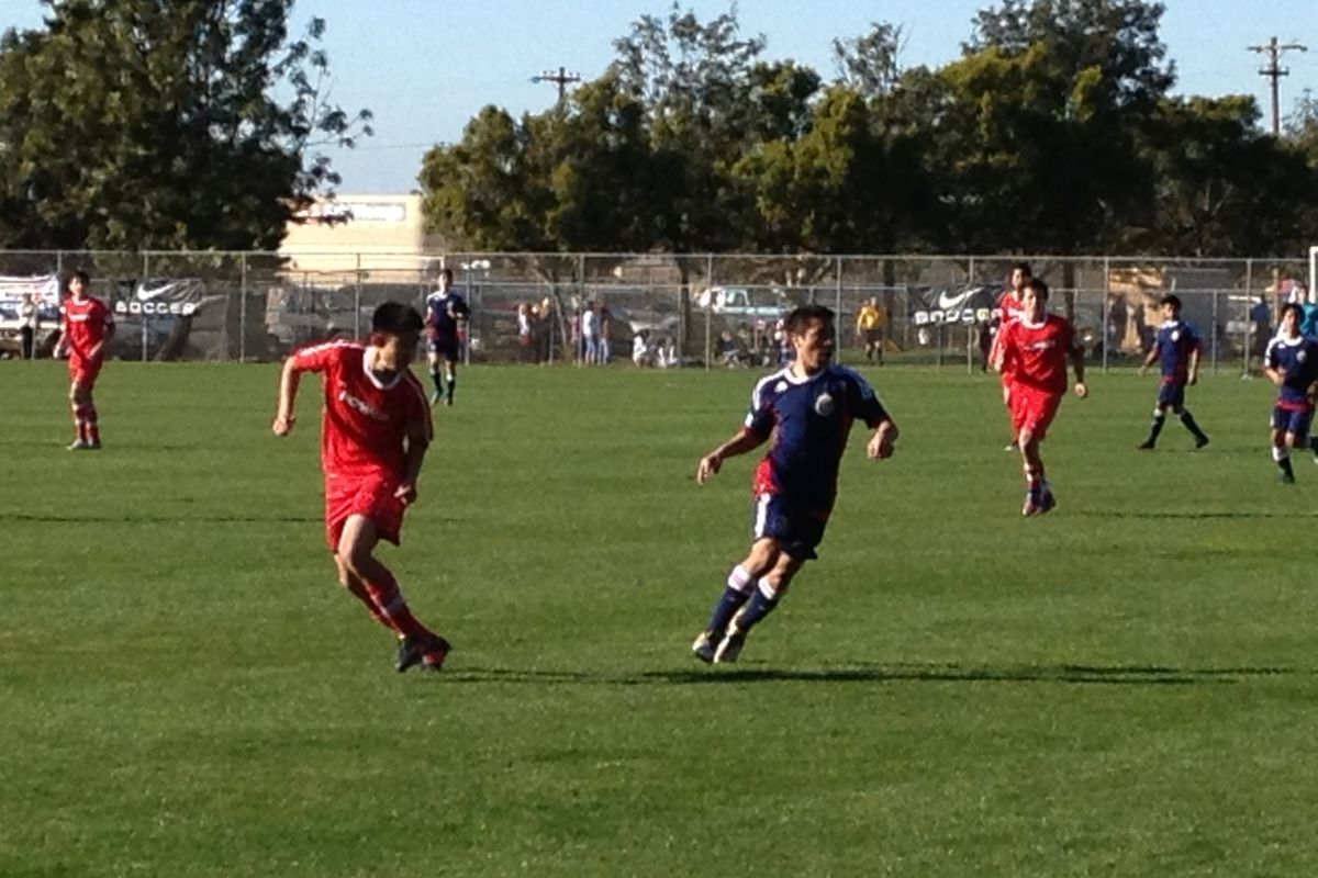 Catch Hilton on a Chivas USA Academy squad while you can