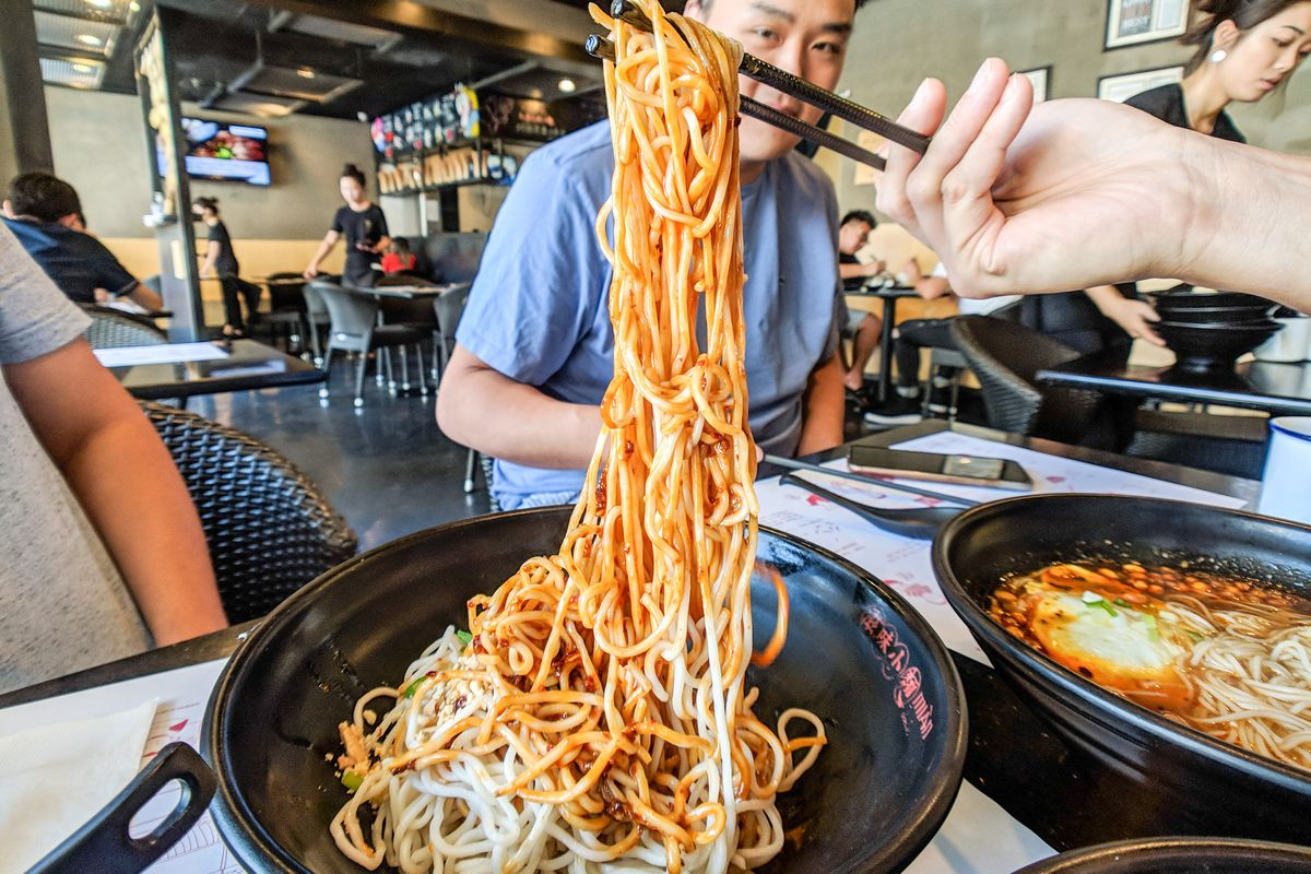 One Of Sgv S Best Casual Noodle Shops Expands To Rowland Heights Eater La