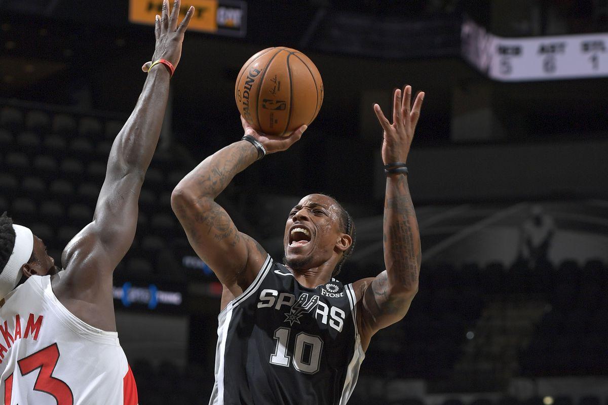 Toronto Raptors v San Antonio Spurs
