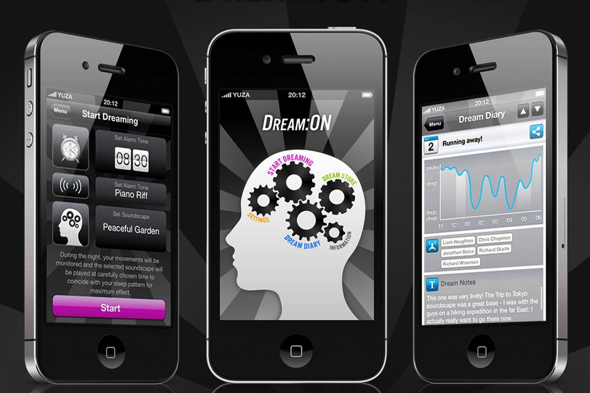 Dream:ON iphone app