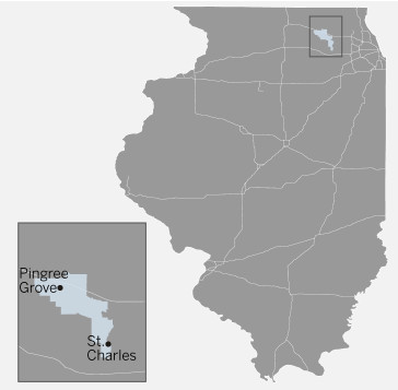 Illinois House 65th District map