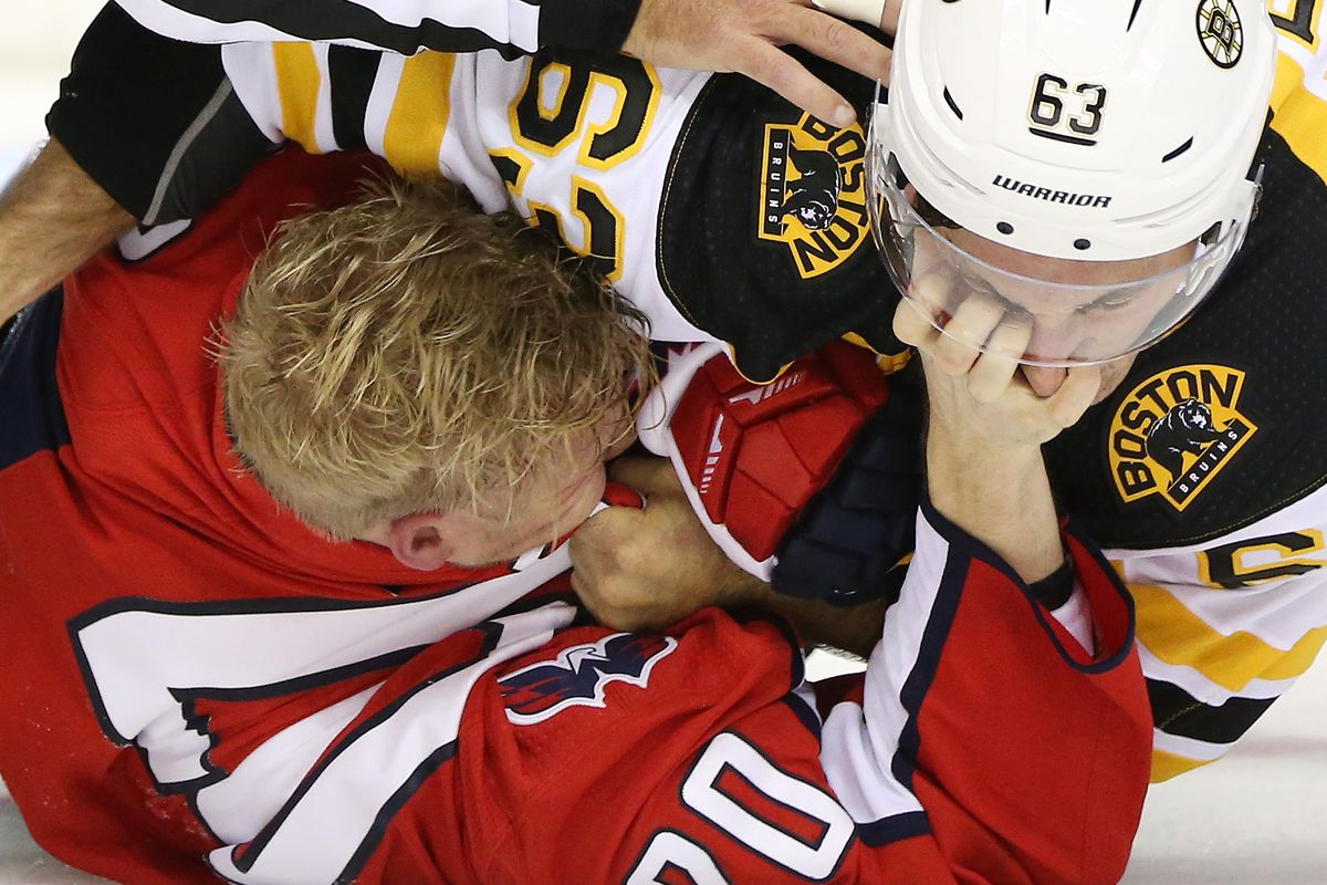 reputable site 4cbb7 9b114 Quick Strikes: Brad Marchand and Tom Wilson are in mid ...