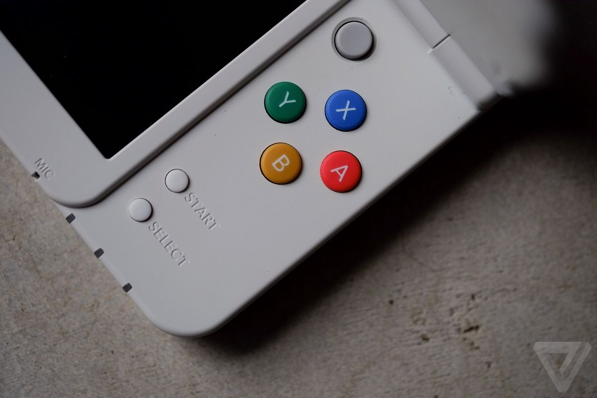 The New Nintendo 3DS loads a secret game when you tap out