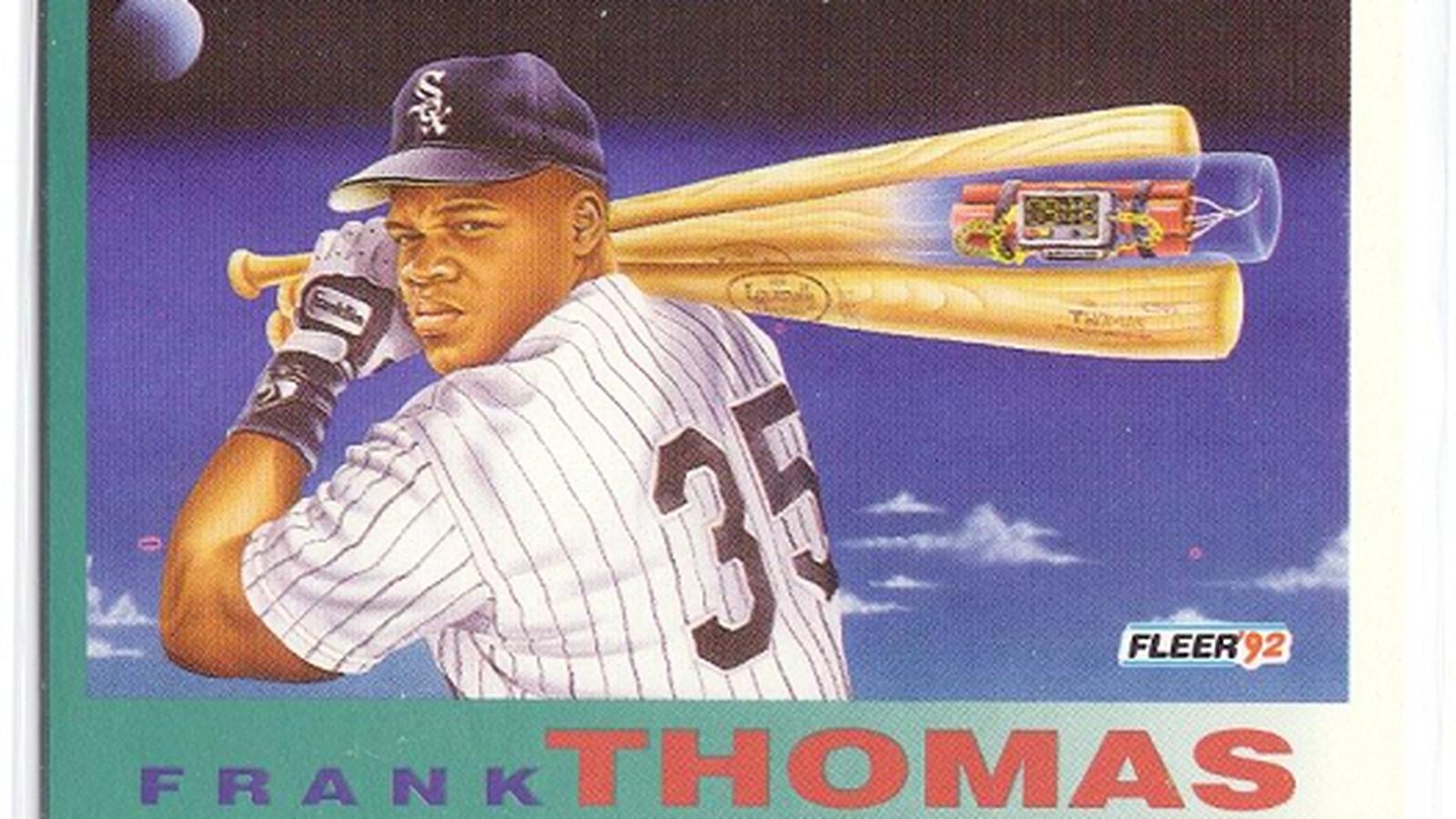 弗兰克托马斯,第一个棒球卡泡沫名人堂成员
