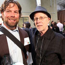 Wine writers Jordan Mackay and Steve Heimoff.