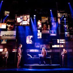 "Stephen Christoper Anthony as Evan Hansen in the North American touring company of ""Dear Evan Hansen."""