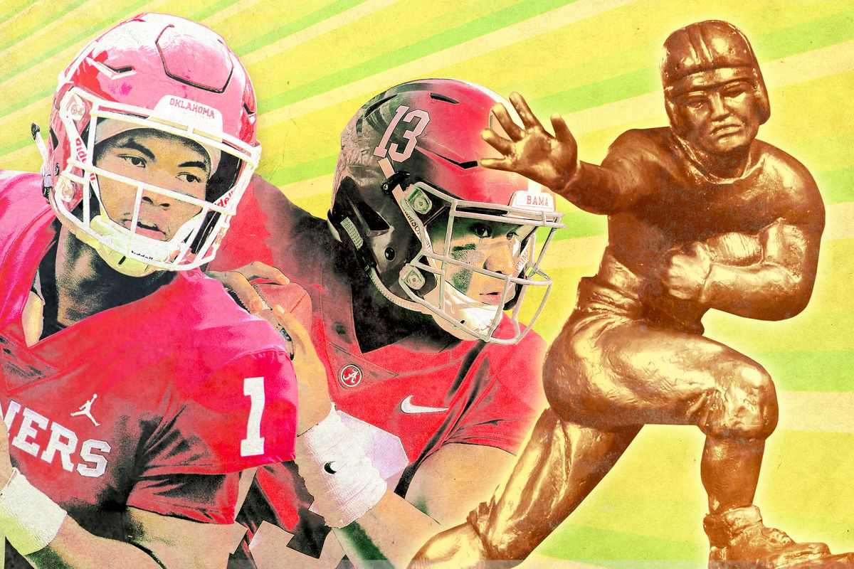 2b14d4eb2 Kyler Murray and Tua Tagovailoa Both Deserve a Heisman Legacy - The ...