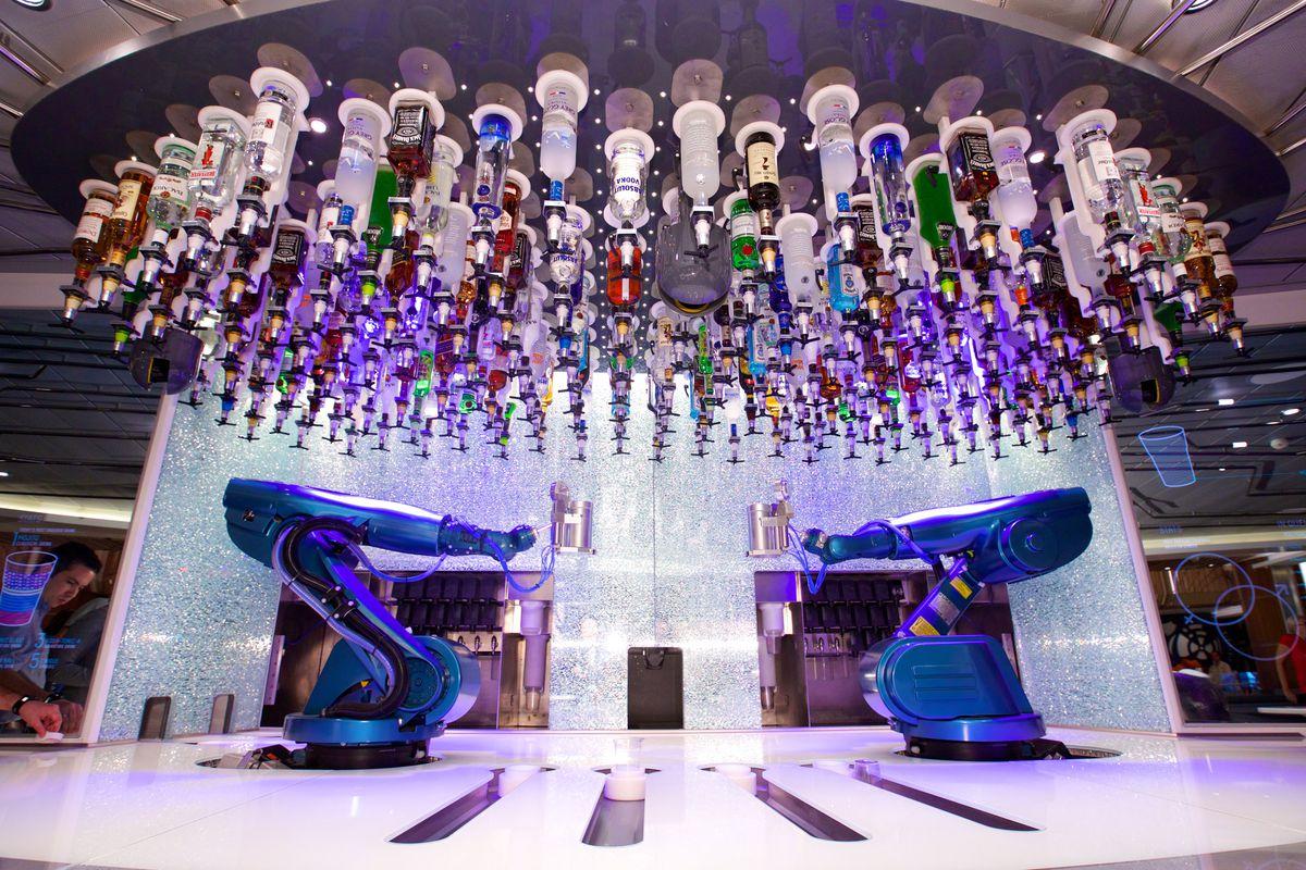 Bionic Bar Royal Caribbean's Harmony of the Seas