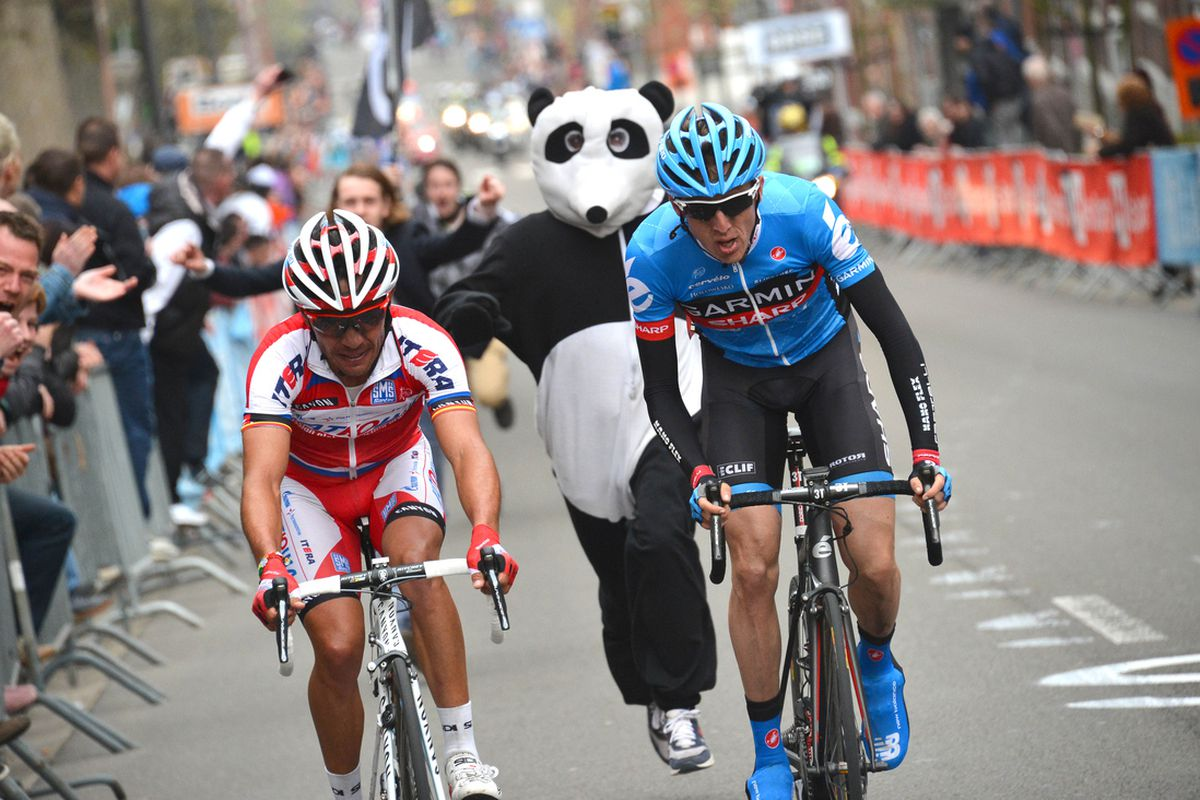 Martin leaves J-Rod and moronic panda behind