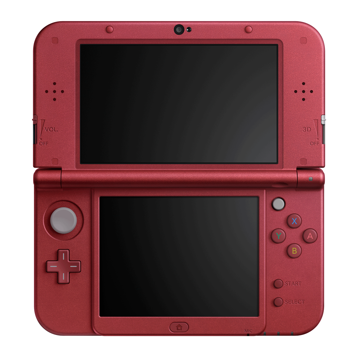 red new 3ds