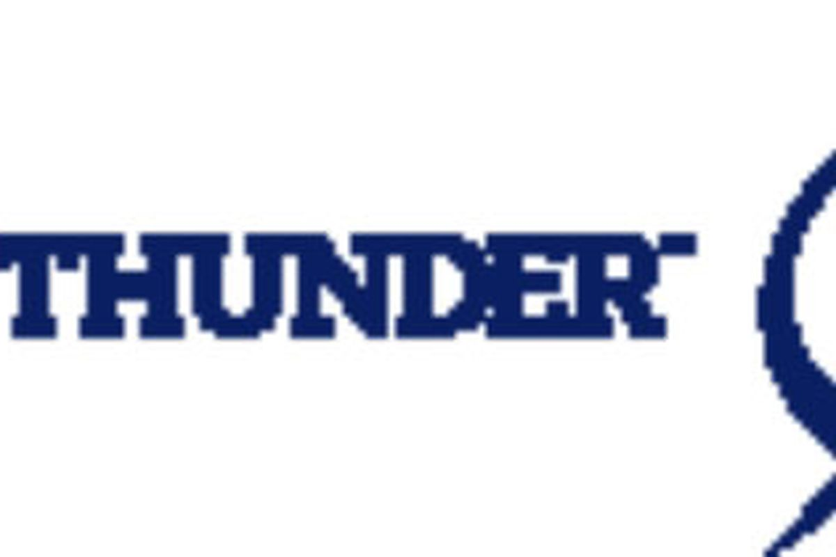 """""""Be The Thunder"""" is the Tampa Bay Lightning's 2011-12 marketing slogan (image via Tampa Bay Lightning)"""
