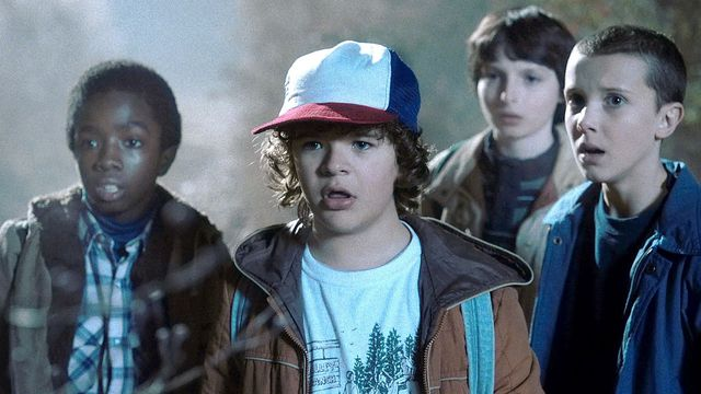 The child cast of Stranger Things from the show's first season