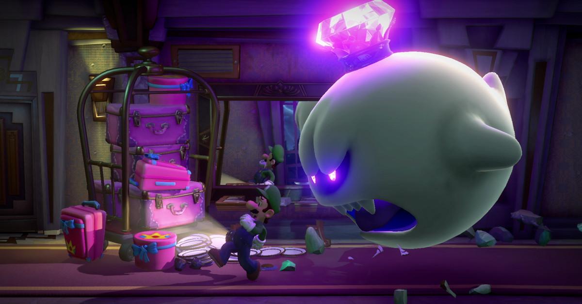Luigis Mansion 3 launches on Halloween Polygon