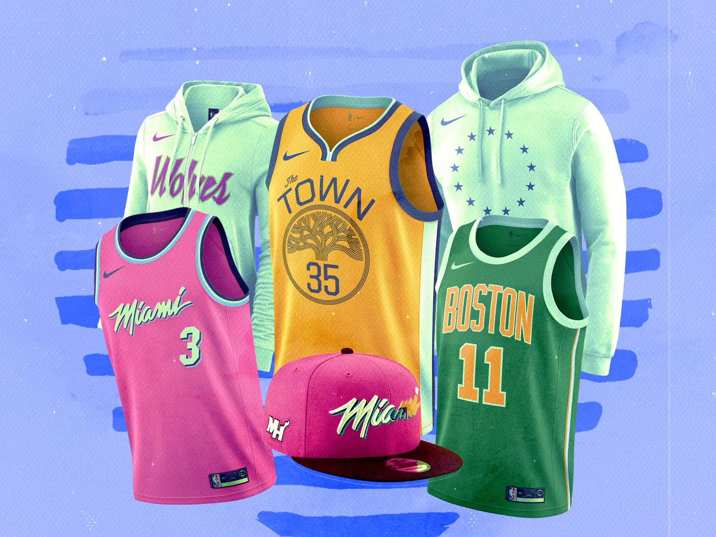 new style 2f945 f4f86 NBA Earned Edition 2018: The jerseys and merch you'll want ...
