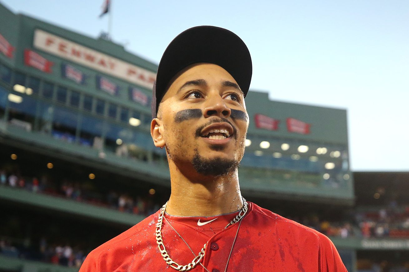 Daily Red Sox Links: Mookie Betts, Xander Bogaerts, Dusty Baker