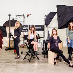 The eBay Fashion team at their photo studio space in the Dogpatch neighborhood of San Francisco.