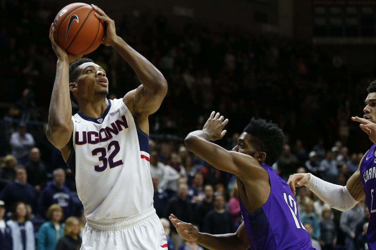 Shonn Miller led UConn with 18 points and seven rebounds as the Huskies moved to 3-0.
