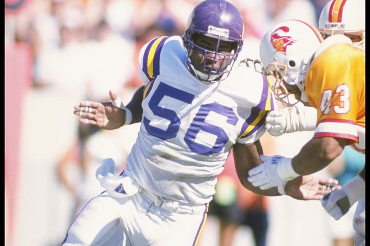 Chris Doleman will be enshrined in the Pro Football Hall of Fame on Saturday afternoon in Canton, Ohio.