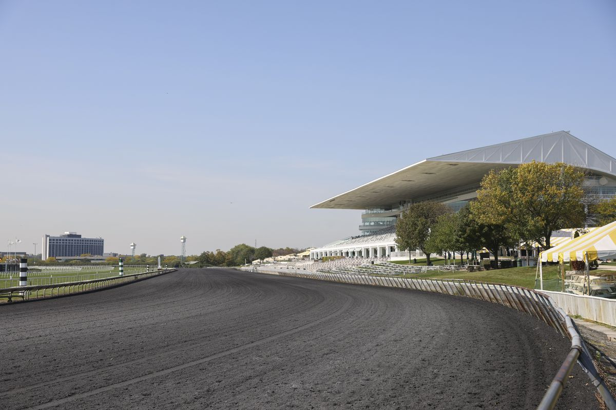 Arlington International Racecourse at 2200 Euclid Ave.
