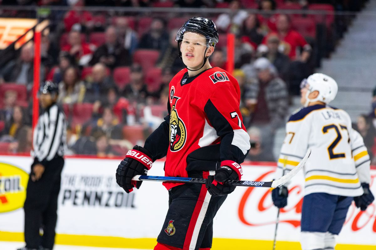 NHL: FEB 18 Sabres at Senators