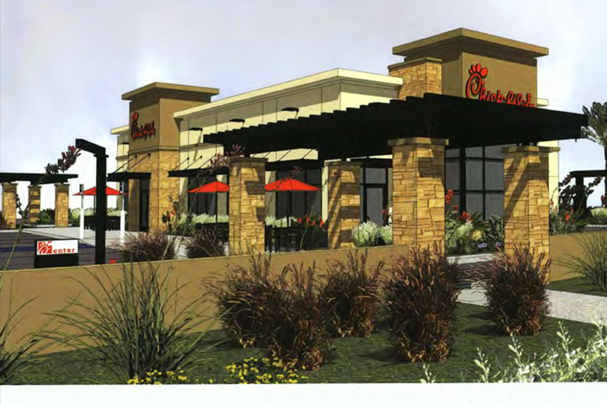 Chick-fil-A rendering
