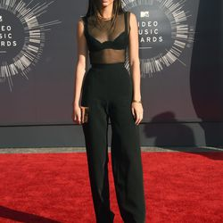 Kendall Jenner represents the FOR PANTS contingent.